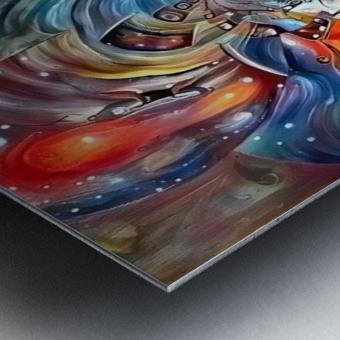 Space Magic Metal print