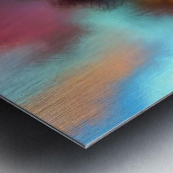 Color Burst - Breathe Metal print