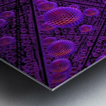 spheres combs structure regulation Metal print