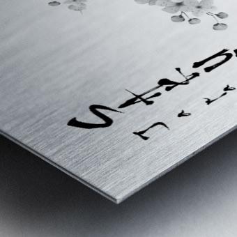 Japanese Concept 02A Metal print