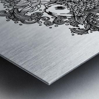 Japanese Concept 05A Metal print