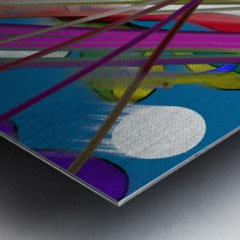 Happy Colors Metal print