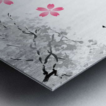 Japanese Concept 11A Metal print