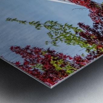 mountain mount landscape japanese Metal print