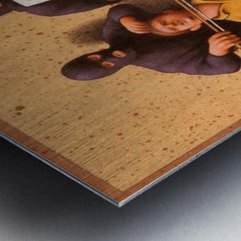 Violon Metal print