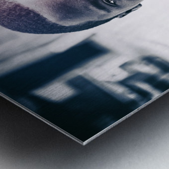 Portraits Metal print