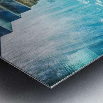 Atlantis Aquarium  Metal print