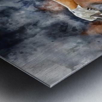 AARON JUDGE Water Color Print - New York Yankees print Metal print
