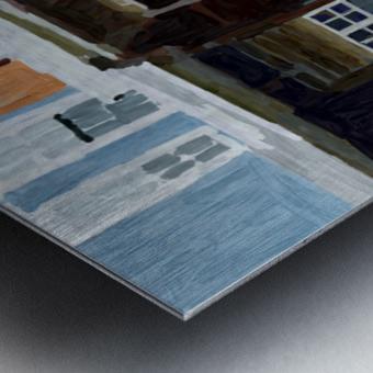 Hampden Rowhouse Metal print