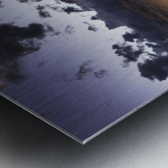 Pioneer Cabin sunset Grand Tetons Metal print
