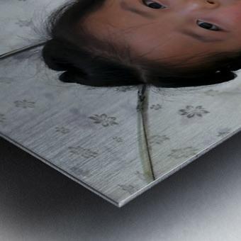 Beijing Princess Metal print