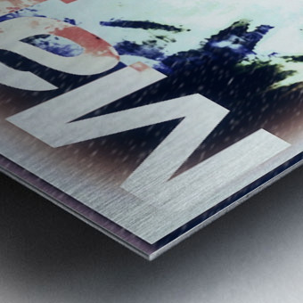 MajorBlazed SnowCO Metal print