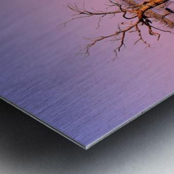 Twin Reflections - Pamamaroo Lake Metal print