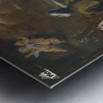 Adoration of the Magi Metal print
