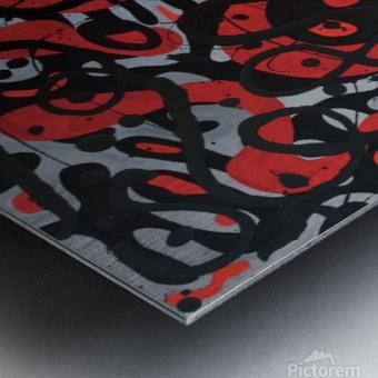 Obliterates Existence Metal print