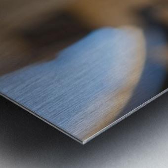 MKE Glass Ball Reflections Metal print
