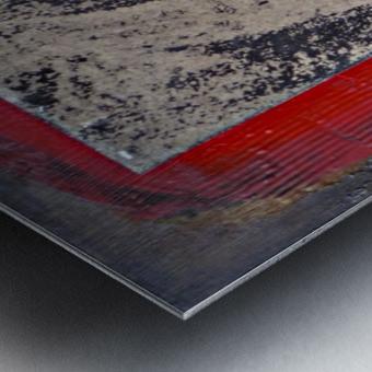 Komb 2 Metal print