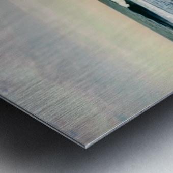 July Surf Metal print