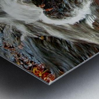 Rushing Stream Metal print