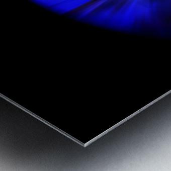 Blue Petal Metal print