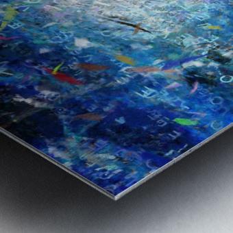 Abstract Canvas Metal print