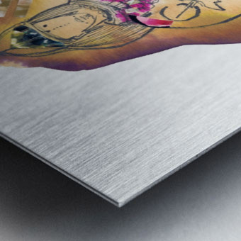 Kreol maghribia_2 Metal print