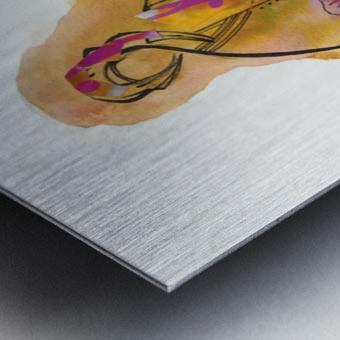Kreol maghribia_6 Metal print