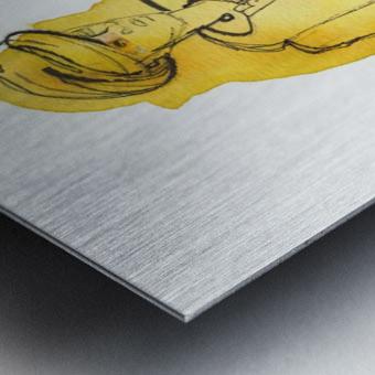 Kreol maghribia_4 Metal print