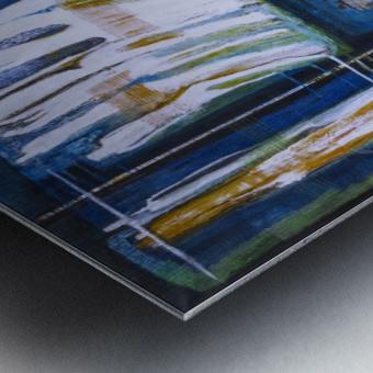 pont_souffrance Metal print