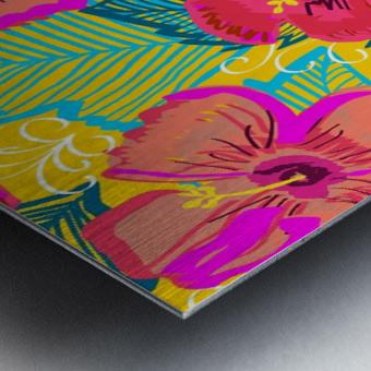 Hiba Metal print