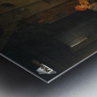 In France Metal print