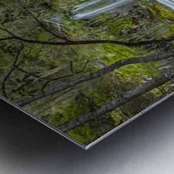 Secret Location Metal print