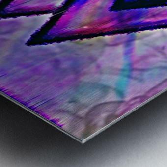 Valknut Colorful Metal print