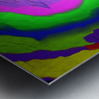1-Beautiful Color Chaos 1 Metal print