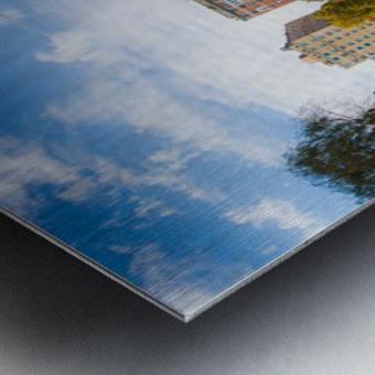 Fall colors in NY Metal print
