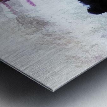Chinese Musical Interlude Metal print