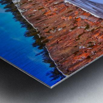 Frozen Shovel Point Metal print