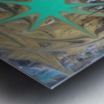 galactic fullmoon Metal print