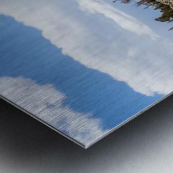 Colorado Glacier Metal print