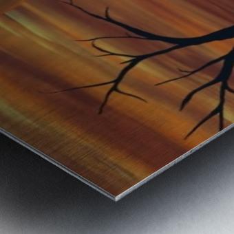 Ares tree acrylic painting Metal print
