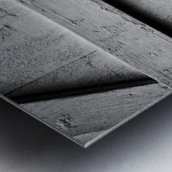 Shutter and Panes Metal print