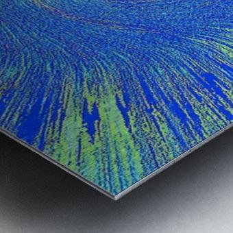 Blue Storm 1  Metal print