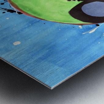 Kiwi Man. Michael D Metal print
