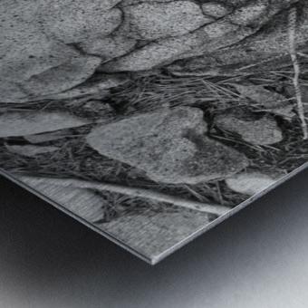 minor world falling apart Metal print