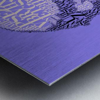 Charles Darwin Metal print