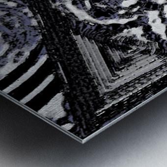 Glacial Motion, Glacial Drift Metal print