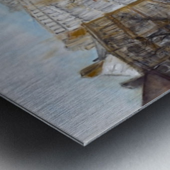 Buildings_High_Res Metal print