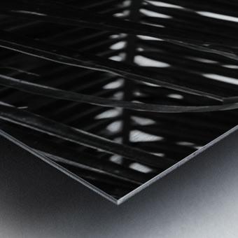 Dark Lines Metal print