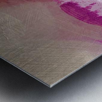 White Water Metal print