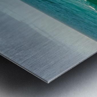 Big Wave Metal print